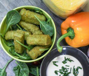 dips vegetariens
